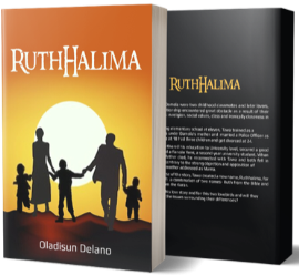 RuthHalima book cover and back